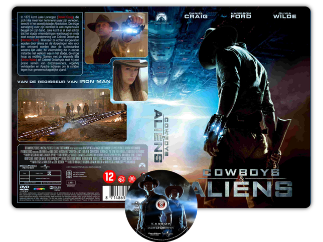 Cowboys & Aliens  - Copertina DVD + CD