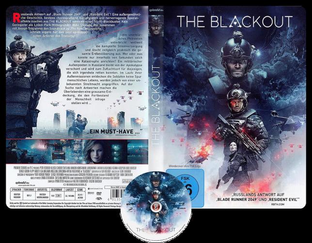 The blackout Invasion Earth - Copertina DVD + CD