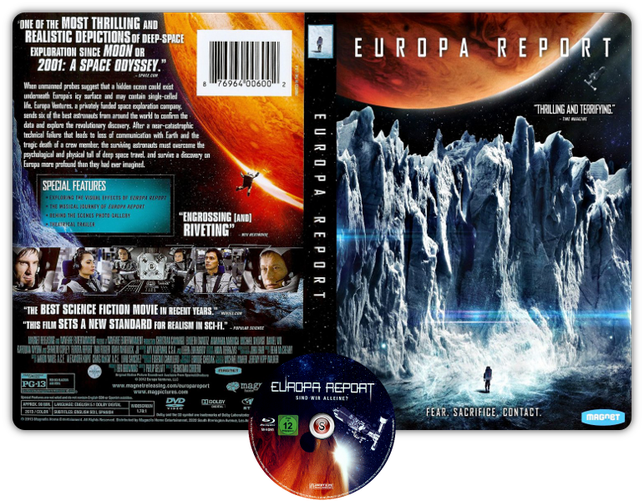 Europa report - Copertina DVD + CD