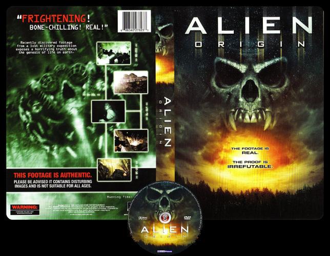Alien origin - Copertina DVD + CD