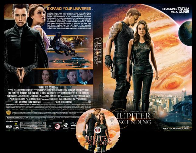 Jupiter ascending - Copertina DVD + CD
