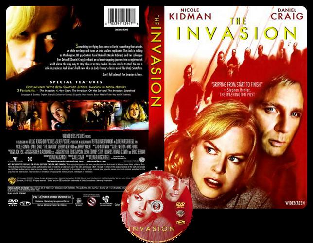 The Invasion - Copertina DVD + CD