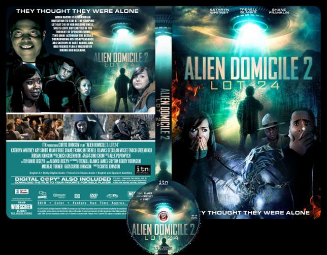 Alien domicile 2 LOT 24 - Copertina DVD + CD