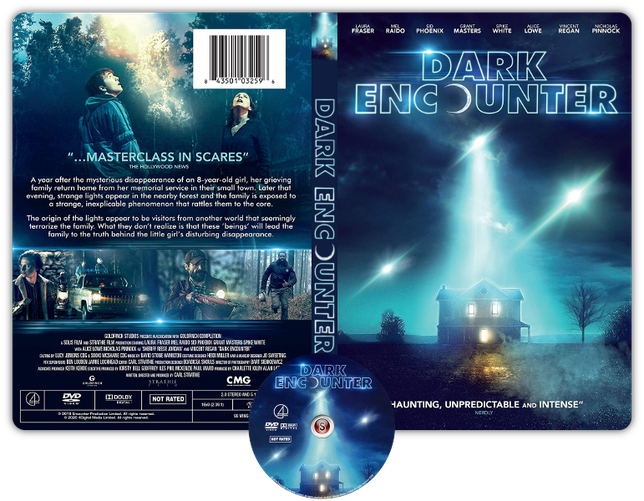 Dark skies - Oscure presenze - Cover DVD + CD