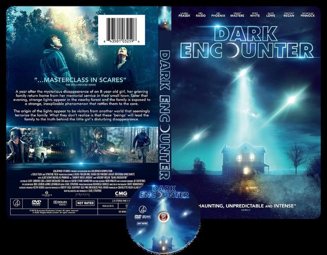 Dark encounter - Cover DVD + CD
