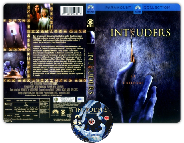 Intruders Copertina - DVD + CD