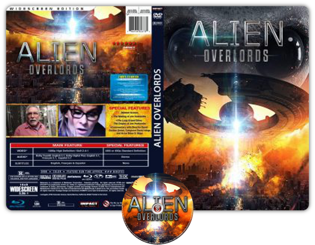 Alien overlords - Copertina DVD + CD