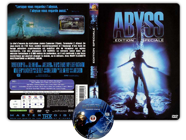 The abyss - Copertina DVD + CD