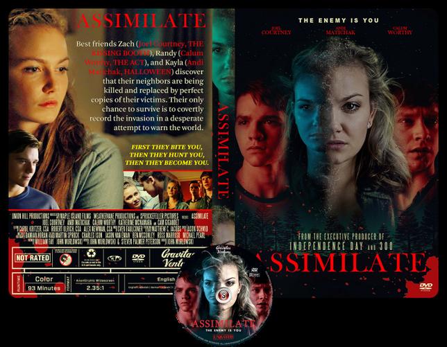 Assimilate - Copertina DVD + CD