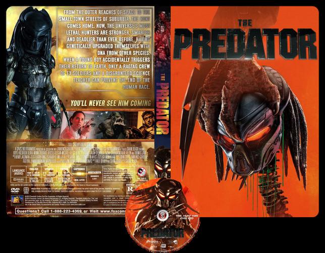 The predator - Locandina - Copertina DVD + CD