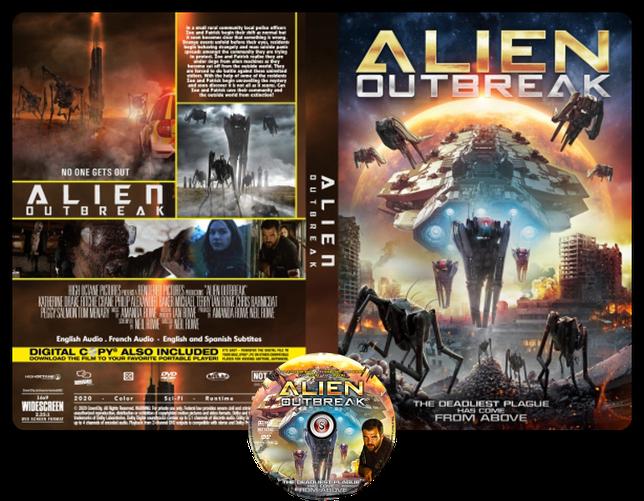 Alien outbreak - Copertina DVD + CD