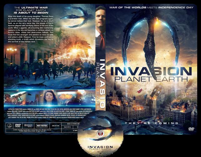 Invasion planet Earth - Copertina DVD + CD