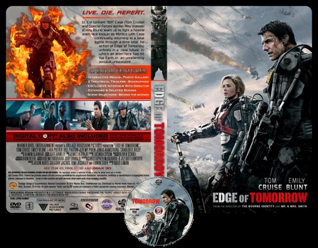 Edge of tomorrow - Senza Domani - Copertina DVD + CD
