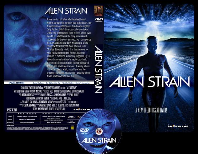 Alien strain - Copertina DVD + CD