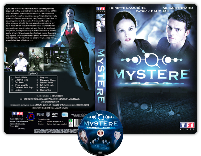 Mystere Copertina DVD + CD