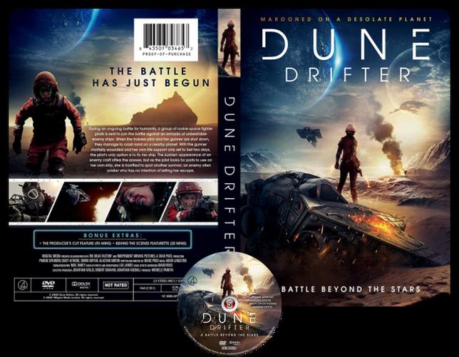 Dune Drifter - Locandina - Copertina DVD + CD