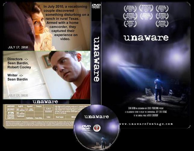 Unaware Copertina DVD + CD
