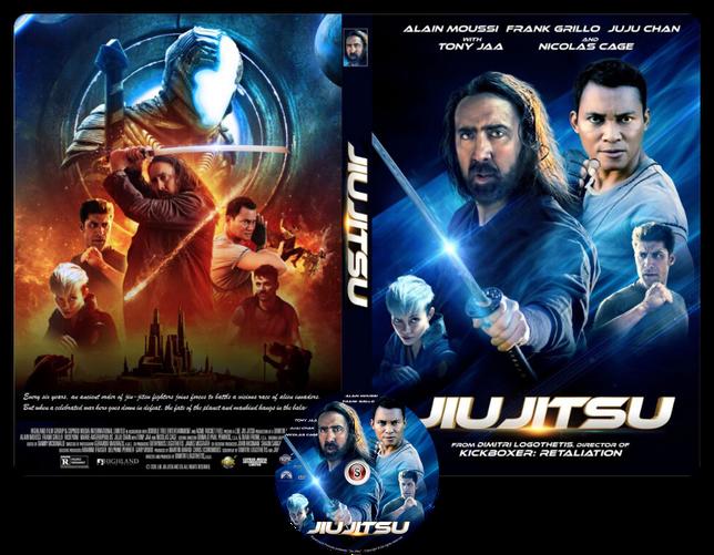 Jiu Jitsu - Copertina DVD + CD