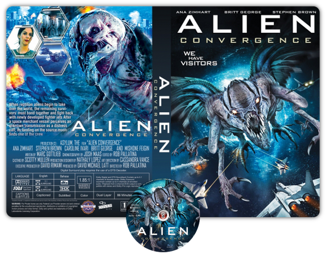 Alien convergence - Copertina DVD + CD