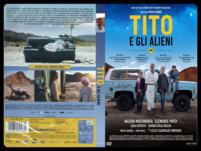 Tito e gli alieni - Copertina DVD + CD