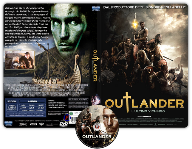 Outlander - L'ultimo vichingo - Copertina DVD + CD