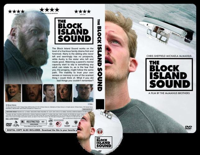 The block Island sound - Copertina DVD + CD