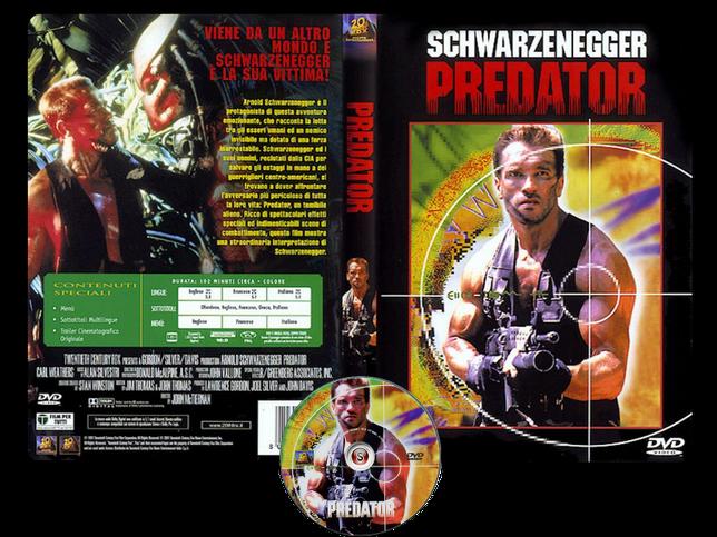 Predator - Copertina DVD + CD