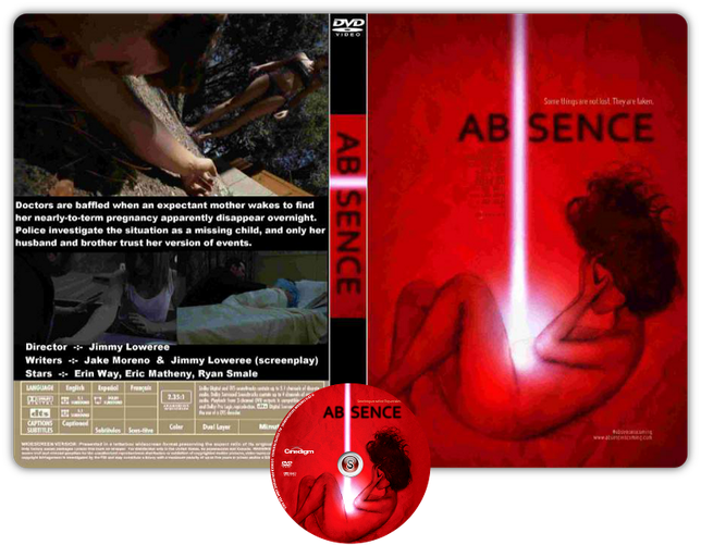 Absence - Copertina DVD + CD