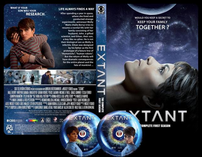 Extant  Copertina DVD + CD