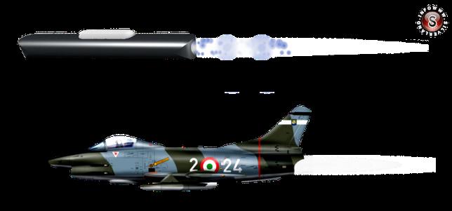 FIAT G-91, elaborazione grafica Silverland