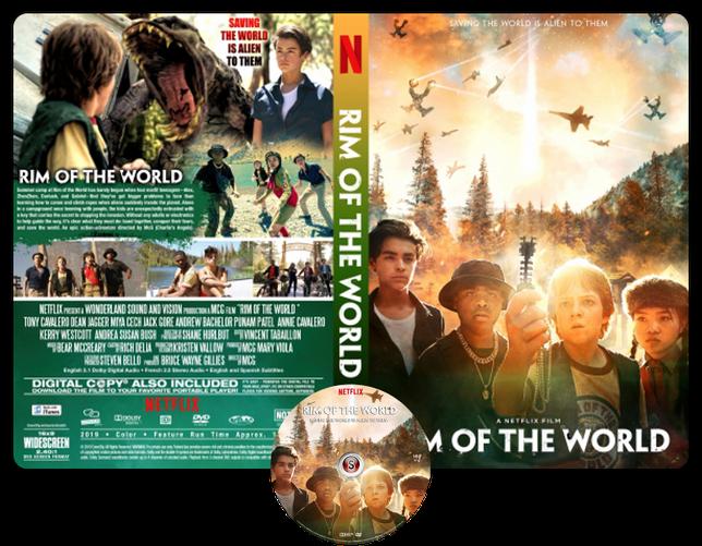 Rim of the world - Locandina - Copertina DVD + CD