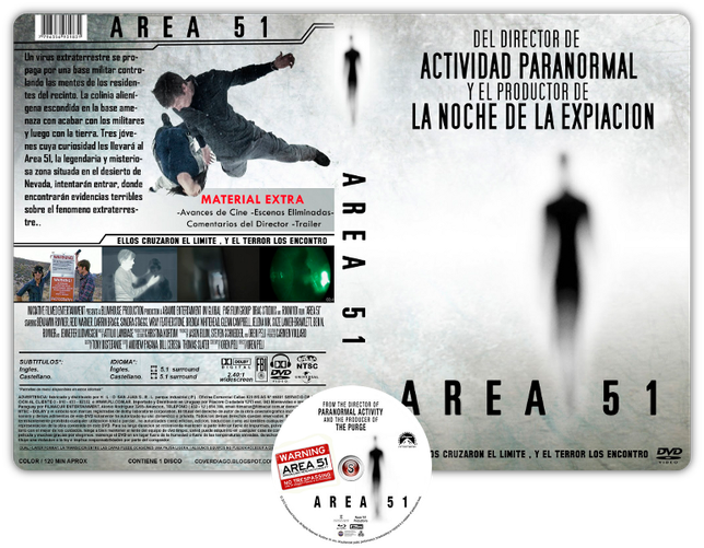 Area 51 - Copertina DVD + CD