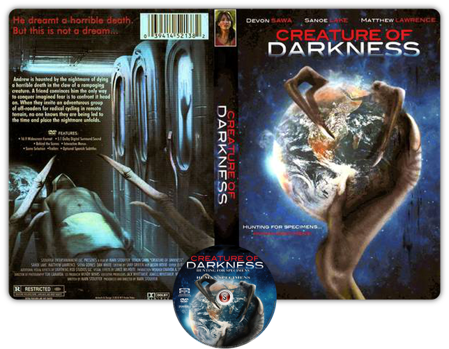 Creature of Darkness Copertina DVD + CD