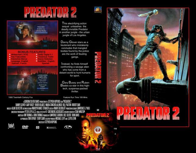 Predator 2 - Copertina DVD + CD