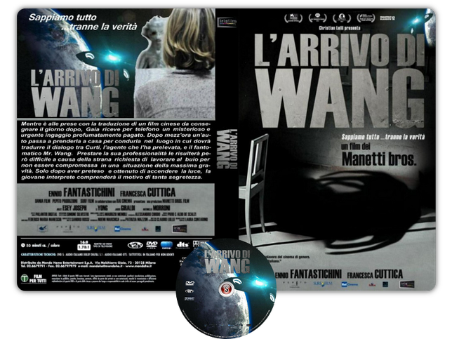 L'arrivo di Wang - Copertina DVD + CD