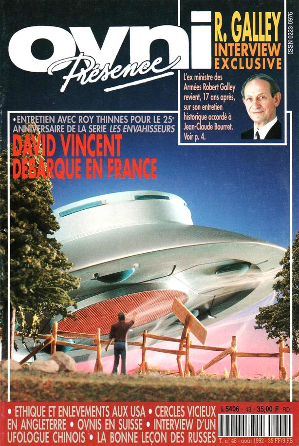 Ovni-Présence n°48 del  1992