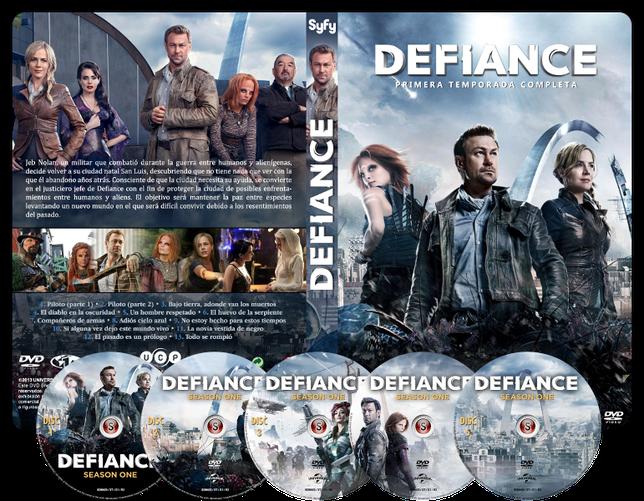 Defiance  Copertina DVD + CD
