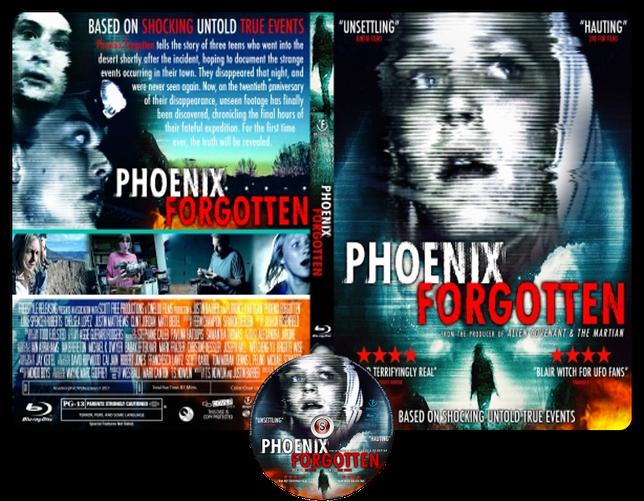 Phoenix Forgotten - Copertina DVD + CD