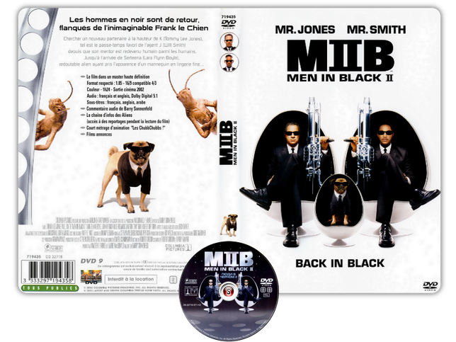 Men in Black 2 - Copertina DVD + CD