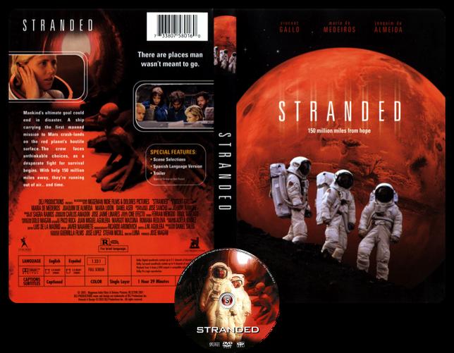 Stranded - Naufraghi Copertina DVD + CD