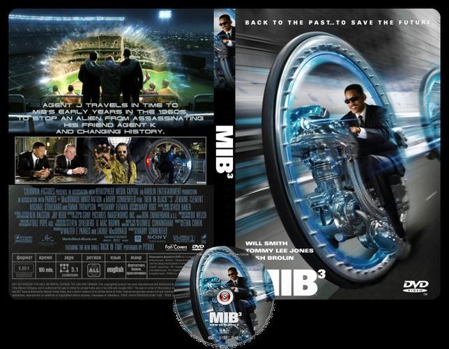 Men in black 3 - Copertina DVD + CD