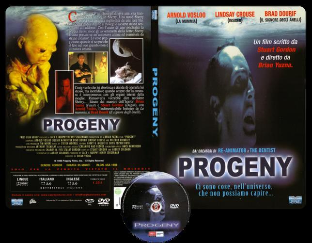 Progeny - Copertina DVD + CD
