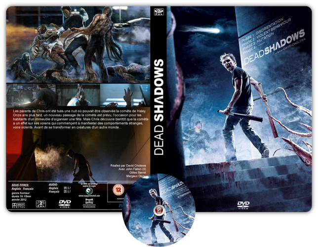 Dead Shadow - Copertina DVD + CD