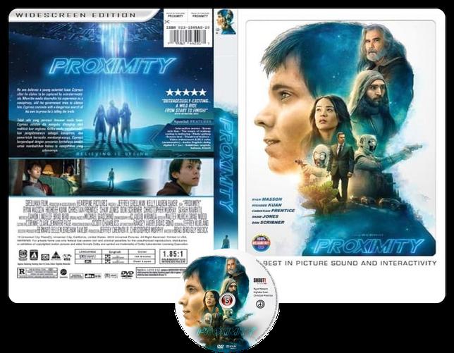 Proximity - Locandina - Copertina DVD + CD