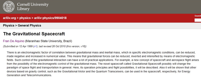 The gravitional Spacecraft