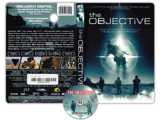 The objective - Copertina DVD + CD