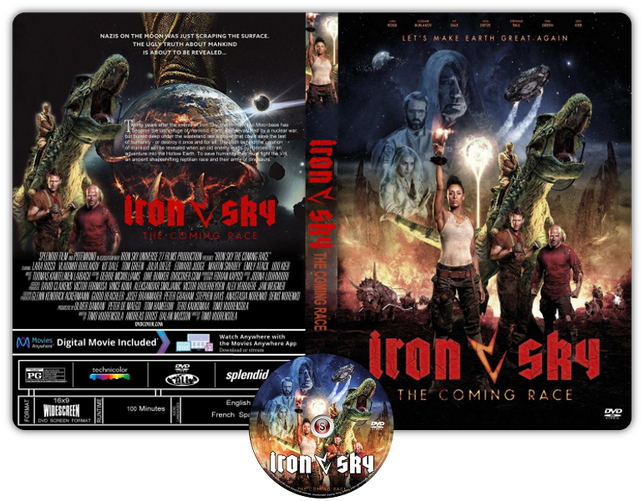 Iron Sky: The Coming Race - Copertina DVD + CD