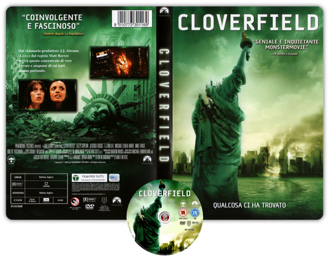 Cloverfield - Copertiva DVD + CD