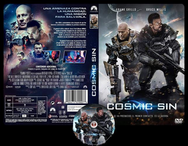 Cosmic sin - Copertina DVD + CD