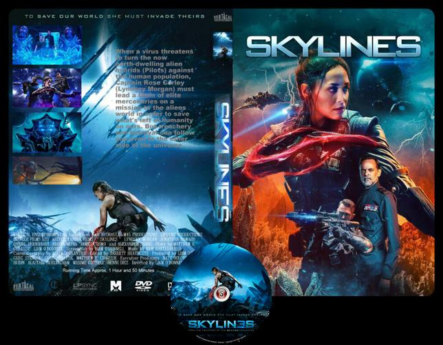 Skylines - Copertina DVD + CD